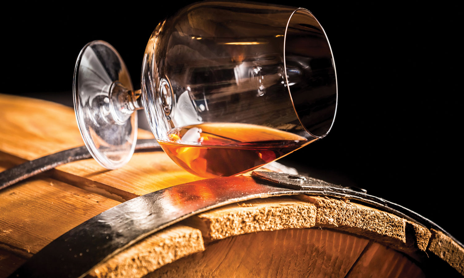Brandy by the snifter