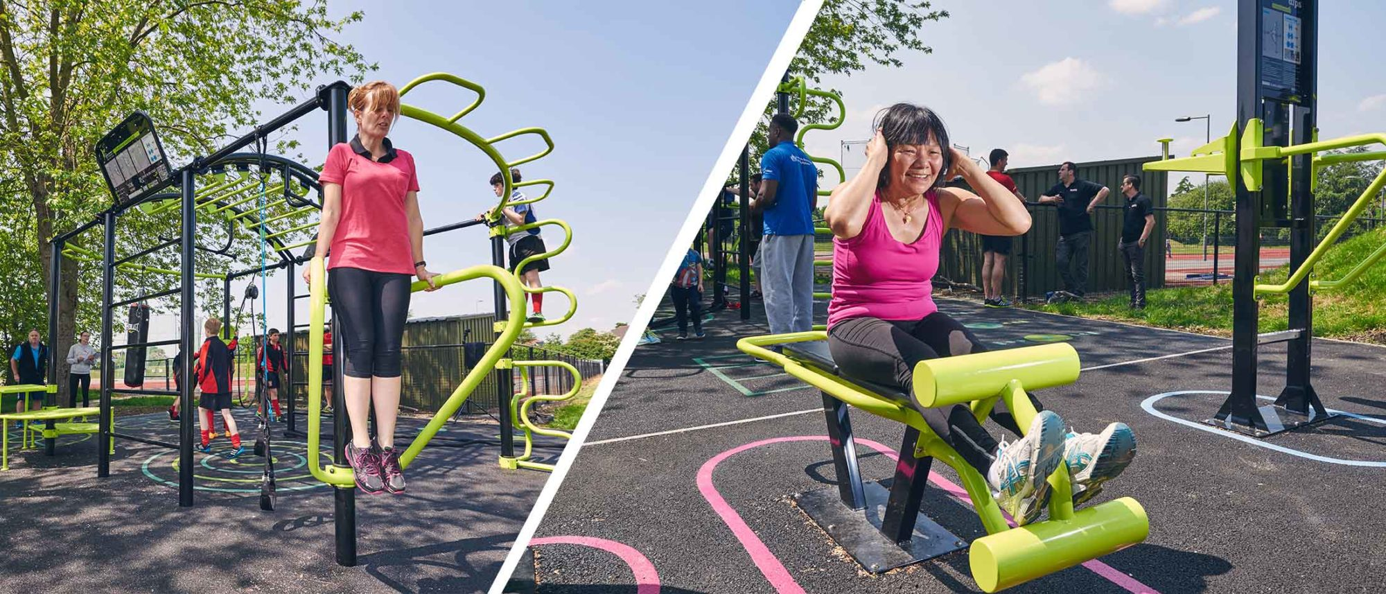 Outdoor fitness equipment – the obvious benefits