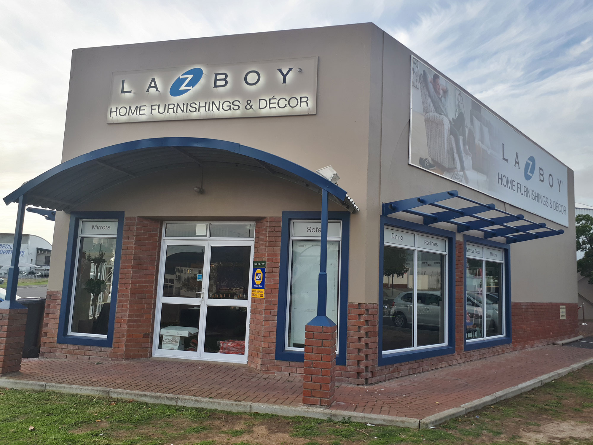 First La-Z-Boy Home Furnishing & Décor store in SA