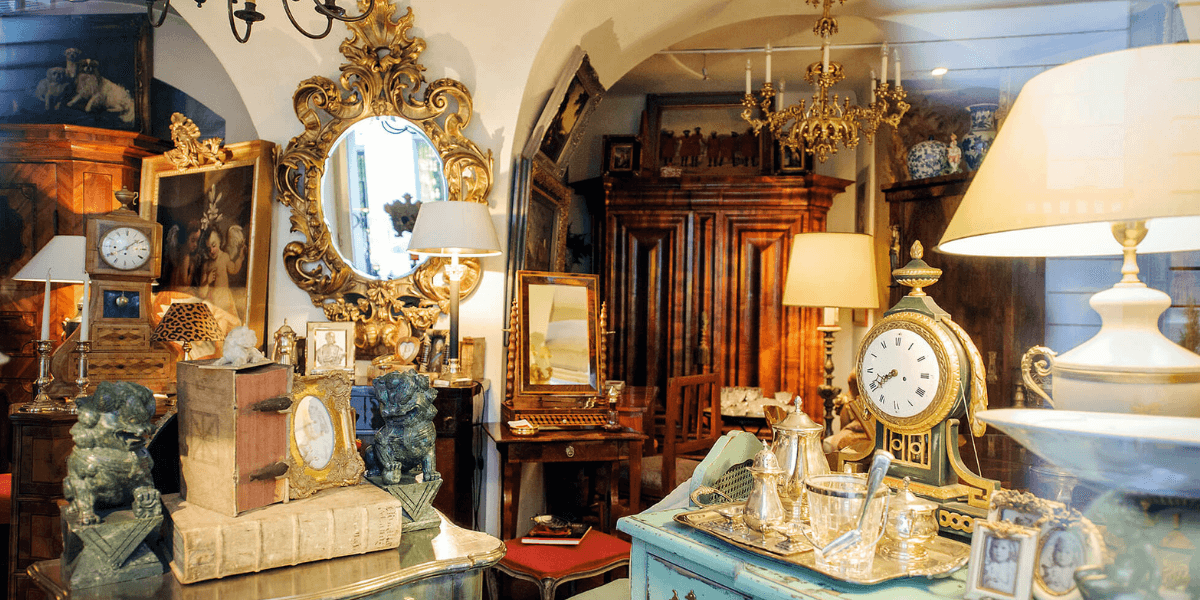 Antiques - an investment you can sit on