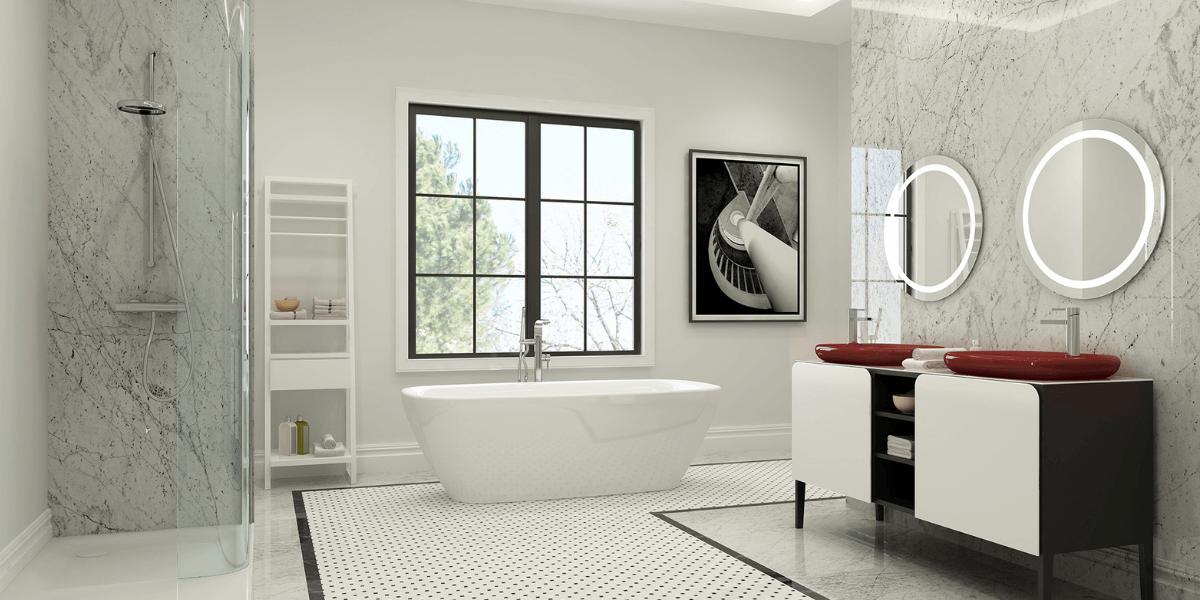 Classic bathroom style