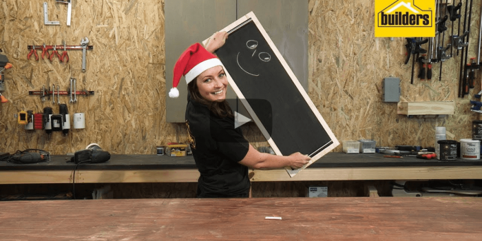 Builders DIY: How to Make a DIY Chalkboard Serving Tray