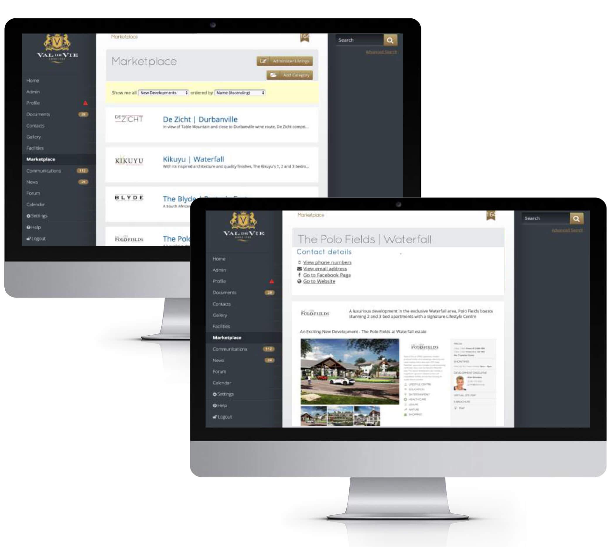 comm portal marketplace sub - REDi Communication