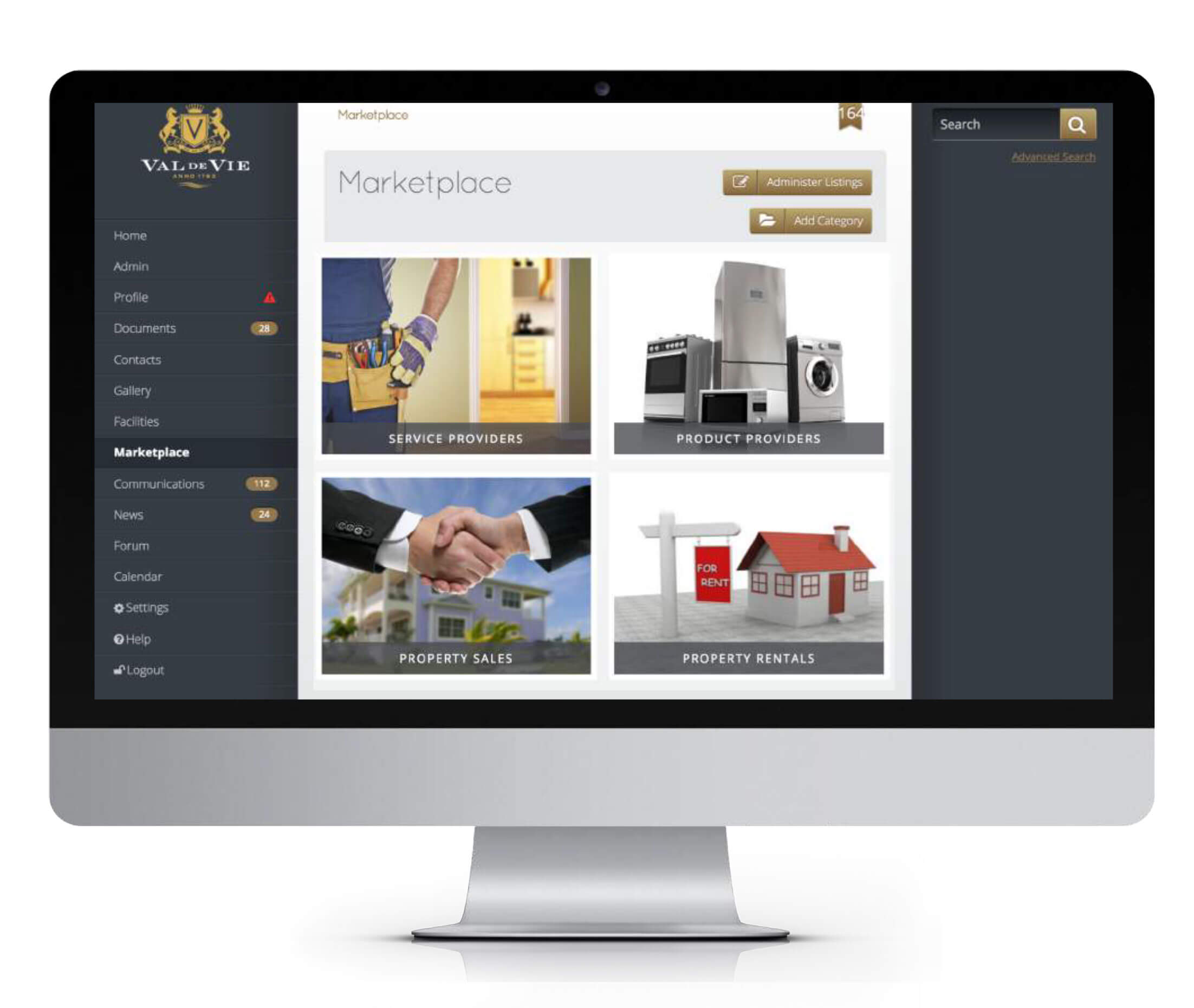 comm portal marketplace - REDi