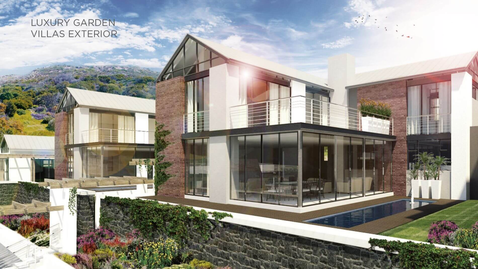 9 Luxury Garden Villas Exterior 1 1 1 - Luxury, style in Simon's Town