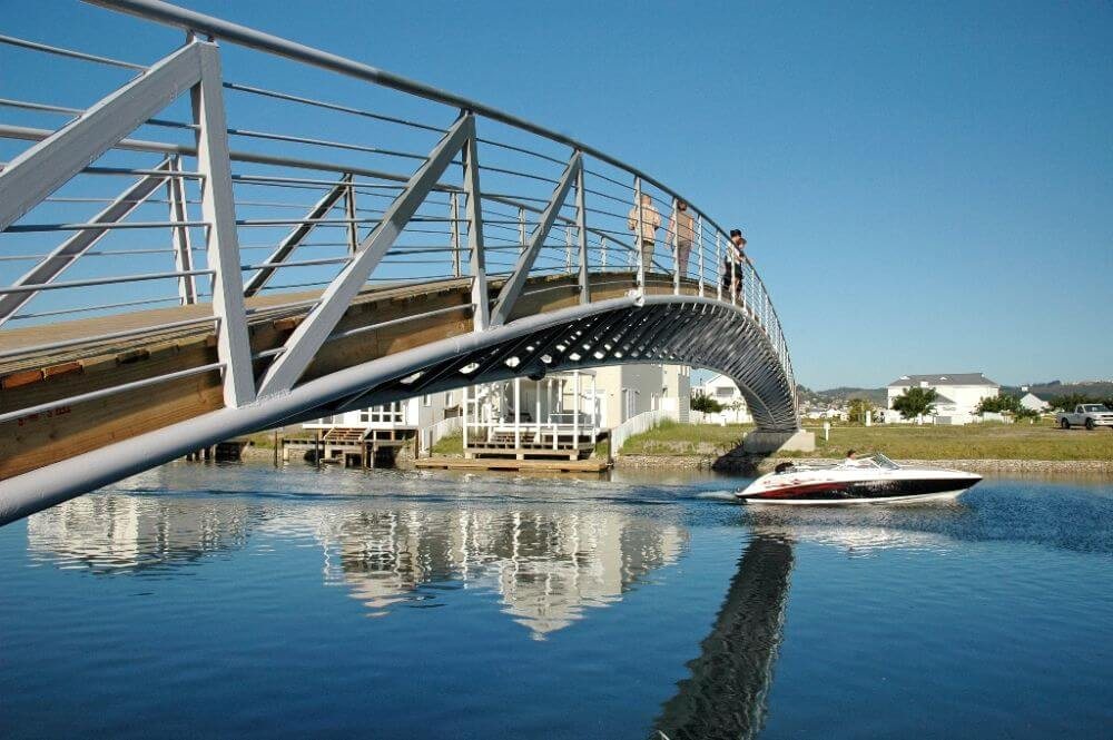 How friendly Thesen Islands pedestrian bridge - How community-friendly is your estate?