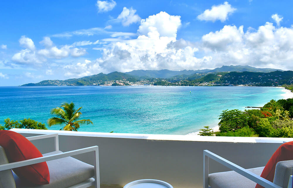 Kwana Model room balcony view small - Grenada strikes a chord with SA investors seeking secondary citizenship