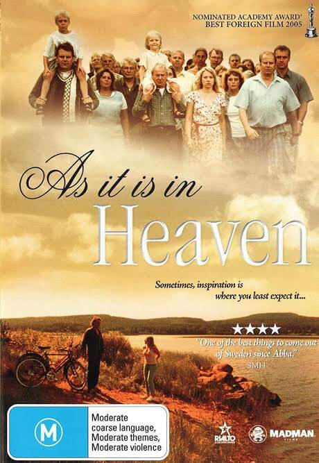 movies As it is in Heaven - Count your blessings