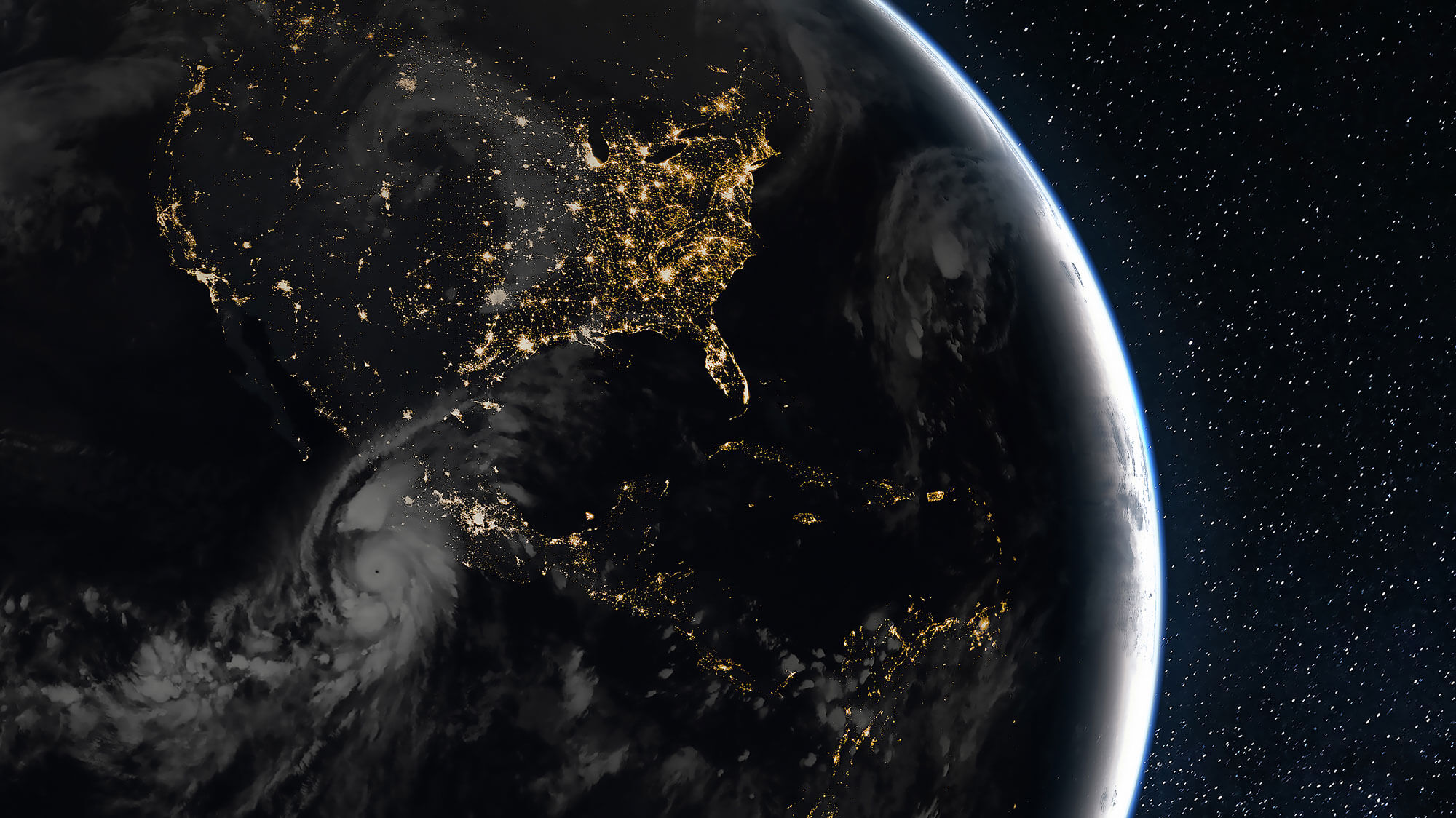 Climate Change View of North and South America from space - News-old